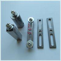 方管双面打孔夹具图片工字手喷挂具订做半圆形夹具弹片