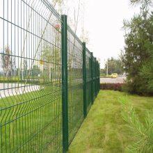 绿化带防护网 锌钢围栏 学校围墙网