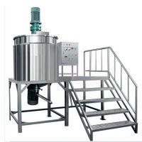 广州方联供应一吨加热搅拌罐1吨电加热搅拌桶不锈钢液体调配罐钢平台配料罐