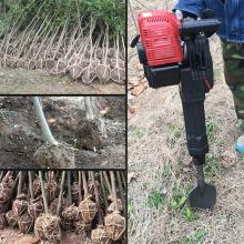 轻松自动挖树机 便携大马力树木断根机 手提式方便起树机