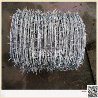 陕西西安围挡用刺绳 监狱厂房专用刀片刺绳 镀锌铁丝 包塑铁丝刺绳