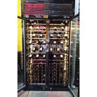 佛山精品红酒白酒展示柜 臻晶美不锈钢恒温酒柜个性化定制