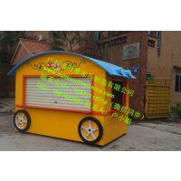 太原景区售票亭广场移动售货亭小吃车咖啡售卖车