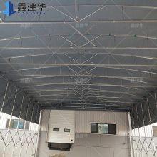江苏连云港防寒仓储雨棚定做大型工地推拉帐篷移动式遮阳雨棚伸缩蓬厂家