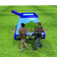 新款趣味运动会道具坦克竞速团队游戏器材户外农庄暖场活动道具
