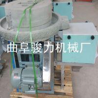 热销 电动小型面粉机 多用途粗粮面粉加工石磨机 石磨面粉机 骏力机械