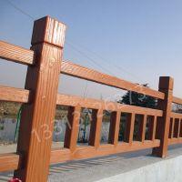许氏水泥仿木栏杆多少钱一米艺术围栏厂家