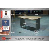 陕西华为3.0体验台新款价格,不锈钢华为展示柜制作厂家