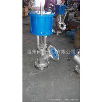 316L保温上展式放料阀 保温上展式放料阀