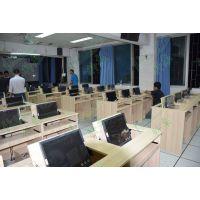 办公家具简约现代翻转电脑桌 直销学校教室电脑桌 职员办公桌