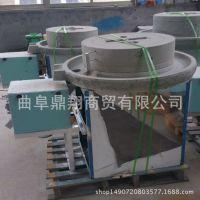 批发供应燕麦粉电动石磨机 小麦面粉石磨机 家用高效面粉机