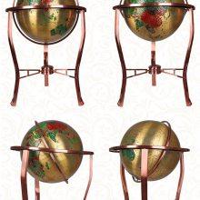 高档纯铜地球仪,领导办公桌摆件,教学地球仪工艺品,开业送礼礼品