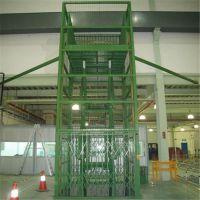 六盘水液压升降货梯 SJD大吨位升降货梯 定制导轨式链条升降货梯