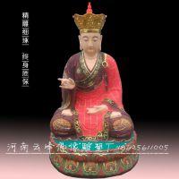 河南云峰佛像雕塑厂供应 地藏王菩萨 大势至 观音大士雕塑