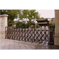 禅城安装小区电动门、定做小区伸缩门、小区电动伸缩门、