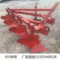 禹鸣1L-435重型四铧犁80-100马力拖拉机大型翻地犁深耕大犁厂家直销