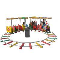 4座商场轨道观光小火车电动儿童游乐园场设备室内广场户外景区电瓶车