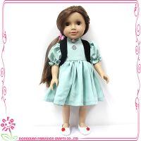 亚马逊爆款18寸搪胶PVC公仔娃娃儿童生日礼物换装玩具