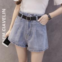 便宜夏季韩版流苏牛仔短裤个性高腰时尚女式短裤批发