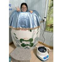 景德镇厂家直销大师绘画负离子养生陶瓷瓮 行灸蒸汽汗蒸保健缸