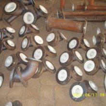 河北供应耐高压技术指导拱形陶瓷贴片耐磨弯头