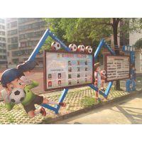 广州社会主义核心价值观标牌不锈钢烤漆宣传牌党建宣传栏户外广告牌