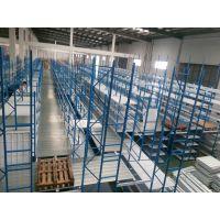 阁楼货架加防护网杭州立野,优质冷轧钢,厂家直销支持非标定制