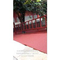 北京彩色防滑路面厂家陶瓷颗粒销售厂家沥青彩色防滑路面施工