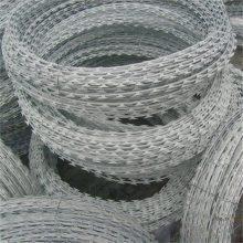 螺旋式刀片刺网 刀片刺绳网 不锈钢刺绳