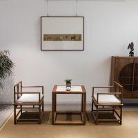 重庆新中式花架现代简约实木花几仿古客厅落地花卉盆景架鱼缸架