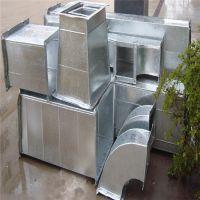 43  青岛  共板法兰风管 镀锌风管 螺旋风管 通风管道 加工