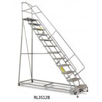 定制yokli优客力RL3512B带踏板锁定机构的12层钢制仓库取货梯,用于仓库取货