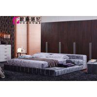北京软床定做布艺卧室家具定制OGAHOME欧嘉璐尼B1006