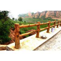 水泥建筑护栏厂直供仿木栏杆,新型实用的水泥仿木护栏欢迎定制