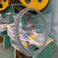 增茂供应平板式刀片刺绳防护网机
