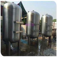 灌装机前置20T/H石英砂过滤罐 清又清1200直径立式过滤器