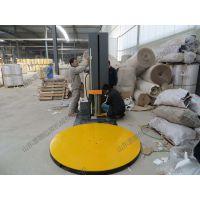 缠绕膜包装机、圆盘直径1650mm,钢板10mm