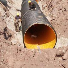 SN12.5排污管 HDPE钢带增强管