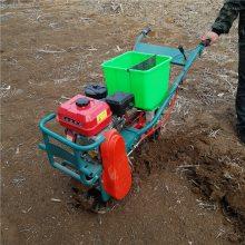 汽油施肥机 大马力玉米播种机 自走式播种施肥机