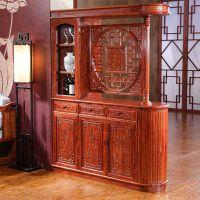 非洲花梨木古典中式酒柜餐边柜储物柜价格图片