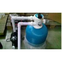 广东纵康泳池空气能热泵_室内钢结构泳池三集一体热泵