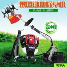 开荒地割草机 小型降低劳动力割草机 农用锄草机种类和报价