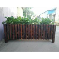 供应品旺碳化木花箱FX-023