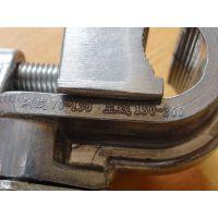 厂家供应 铝合金垂直线夹 垂直排列双线夹 电力光缆工具线夹汇能