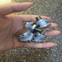 金裕 定制 不锈钢实心广告钉装饰钉 楼梯护手玻璃夹 立柱加紧螺栓固定件配件