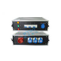 舞台灯光LED大屏电源直通箱 16A配电柜带航空箱电源箱