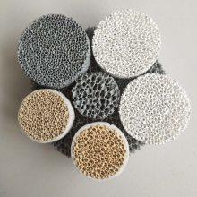 晨宇牌CY-10碳化硅陶瓷过滤网天津市铸铁用挡渣网
