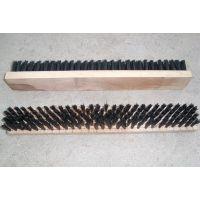 厂家批发长条木板清洁毛刷 木板刷 木板马毛条刷 木板钢丝条刷