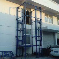 室内升降货梯厂家 山东生产液压式升降平台 SJD导轨式升降机