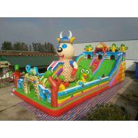 河北邯郸儿童大型充气滑梯超级好玩有力量的